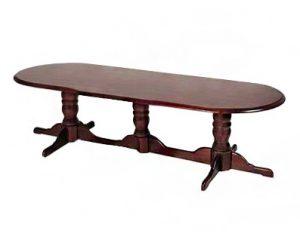 Bulbous Table Oval XL