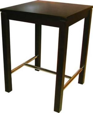 Blokpoot (Sturdy-Leg) Bartable H-St.Steel