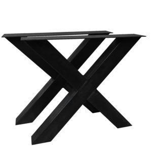 Steel tablebase X column