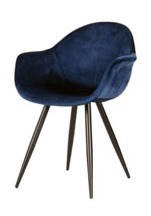 Chair Floris Velvet blue