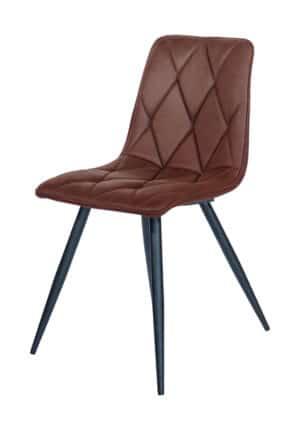 Chair Tampa microfiber cognac