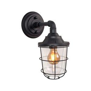 Wall lamp Seal black