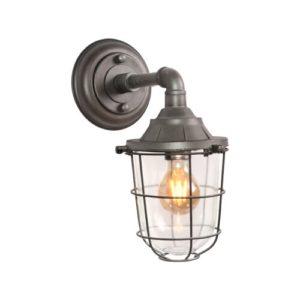 Wall lamp Seal burned metal